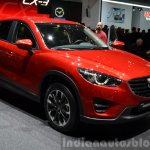 2015 Mazda CX-5 front three quarter view at 2015 Geneva Motor Show