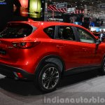 2015 Mazda CX-5 rear three quarter view at 2015 Geneva Motor Show