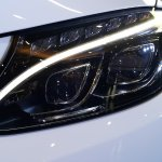 2015 Mercedes C Class Diesel launch LED headlamp