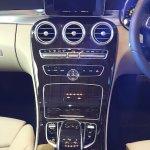 2015 Mercedes C Class Diesel launch center console