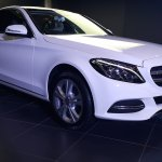 2015 Mercedes C Class Diesel launch front three