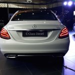 2015 Mercedes C Class Diesel launch rear