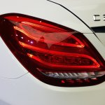 2015 Mercedes C Class Diesel launch tail lamp