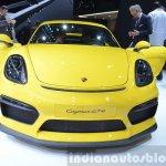 2015 Porsche Cayman GT4 front view at 2015 Geneva Motor Show