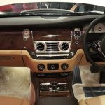 2015 Rolls Royce Ghost Series 2 India launch dashboard