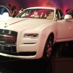 2015 Rolls Royce Ghost Series 2 India launch  front 3 quarter