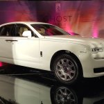 2015 Rolls Royce Ghost Series 2 India launch  front quarter