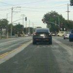 2015 Tesla Model X spied rear