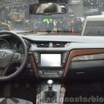 2015 Toyota Avensis dashboard at the 2015 Geneva Motor Show