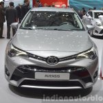 2015 Toyota Avensis front view at the 2015 Geneva Motor Show