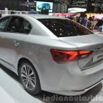 2015 Toyota Avensis rear three quarter view at the 2015 Geneva Motor Show