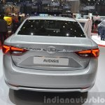 2015 Toyota Avensis rear view at the 2015 Geneva Motor Show