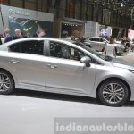 2015 Toyota Avensis side view at the 2015 Geneva Motor Show