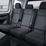 2015 VW Caddy rear seat