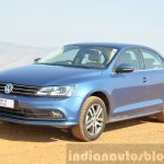 2015 VW Jetta TDI facelift front quarter Review