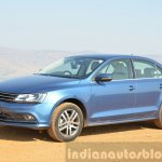 2015 VW Jetta TDI facelift front three quarter Review