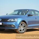 2015 VW Jetta TDI facelift front three quarters Review