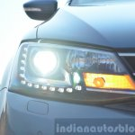 2015 VW Jetta TDI facelift headlight Review