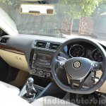 2015 VW Jetta TDI facelift interior Review
