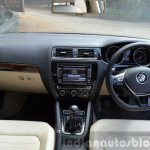 2015 VW Jetta TDI facelift interor Review