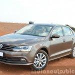 2015 VW Jetta TSI facelift front quarter Review