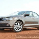 2015 VW Jetta TSI facelift front quarters Review