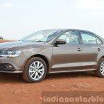 2015 VW Jetta TSI facelift front three quarter Review