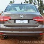 2015 VW Jetta TSI facelift rear Review