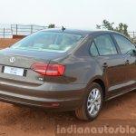 2015 VW Jetta TSI facelift rear quarter Review