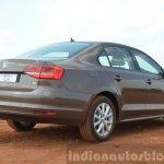 2015 VW Jetta TSI facelift rear three quarter Review