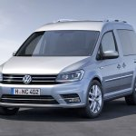 2015 Volkswagen Caddy Life front three quarter