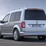 2015 Volkswagen Caddy Life rear three quarter