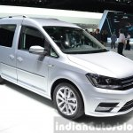 2015 Volkswagen Caddy front three quarter view at 2015 Geneva Motor Show