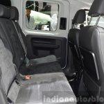 2015 Volkswagen Caddy rear seat at 2015 Geneva Motor Show