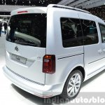 2015 Volkswagen Caddy rear three quarter view at 2015 Geneva Motor Show