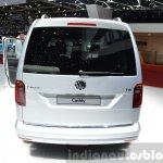 2015 Volkswagen Caddy rear view at 2015 Geneva Motor Show