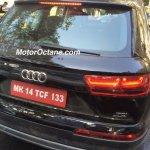 2016 Audi Q7 rear spied Mumbai