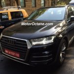 2016 Audi Q7 spied Mumbai