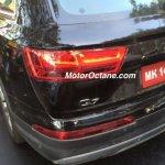2016 Audi Q7 taillight spied Mumbai