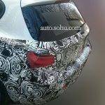 2016 BMW 1 Series facelift boot China spied