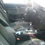 2016 BMW 1 Series facelift center console China spied