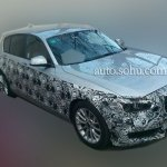 2016 BMW 1 Series facelift front quarter China spied