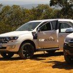2016 Ford Endeavour grille spied Australia