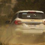 2016 Ford Endeavour rear spied Australia
