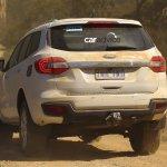 2016 Ford Endeavour spied Australia