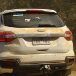 2016 Ford Endeavour tailgate spied Australia