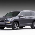 2016 Honda Pilot press shots