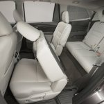 2016 Honda Pilot rear seat press shots