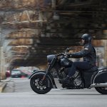 2016 Indian Chief Dark Horse Action Left Side Profile