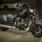 2016 Indian Chief Dark Horse Left Front Three Quarters